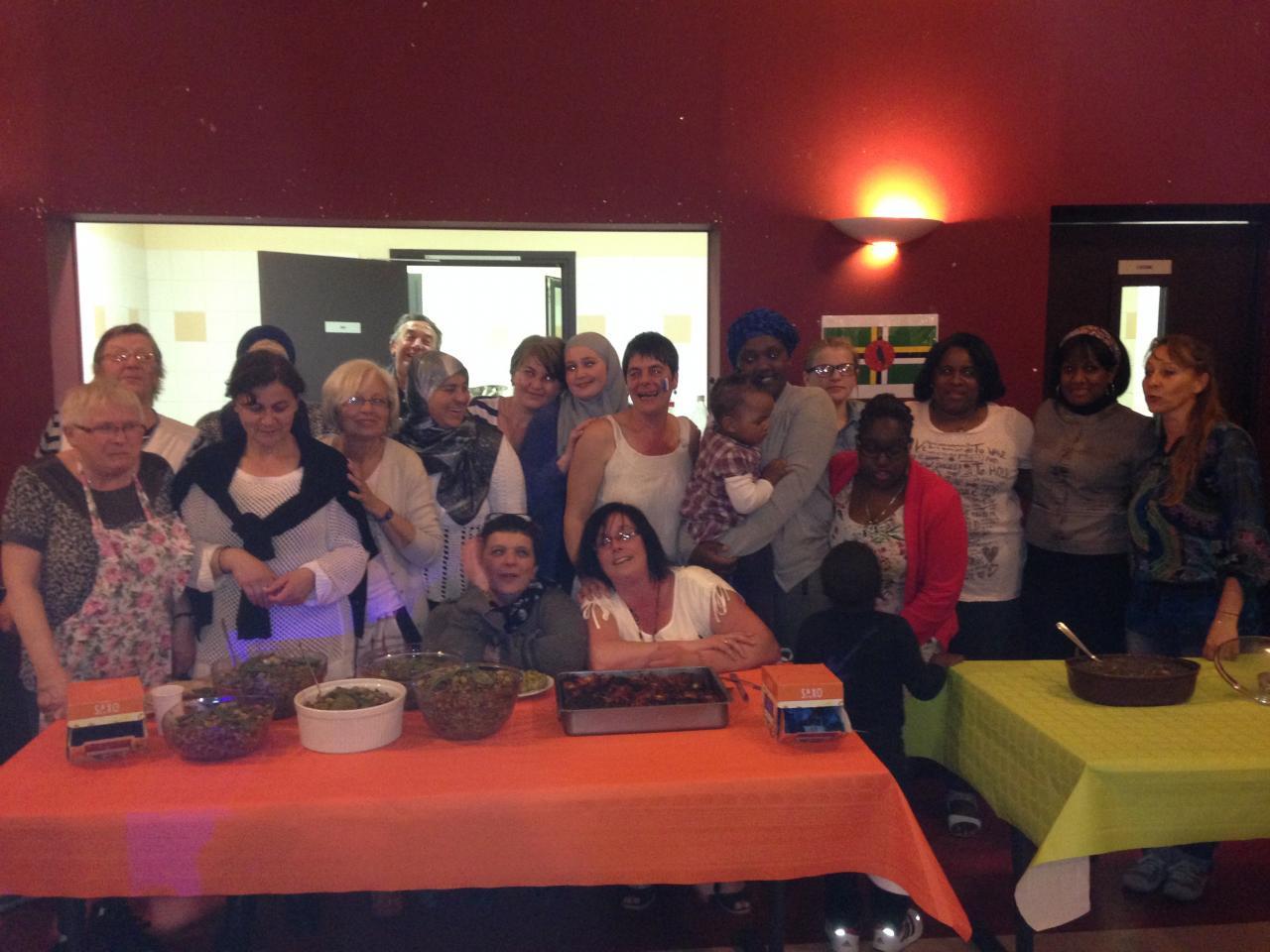 Semaine de la diversité / repas de quartier multiculturel