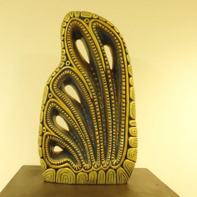 Exposition des sculptures sur craie de Yaox