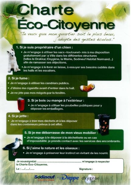 Charte eco