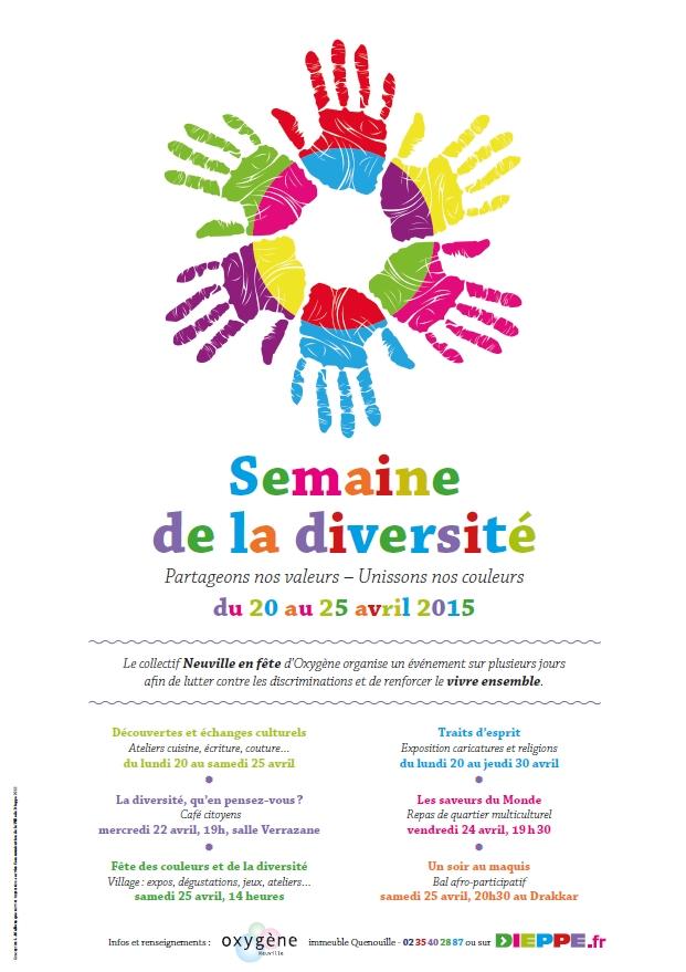 Semaine de la diversite affiche